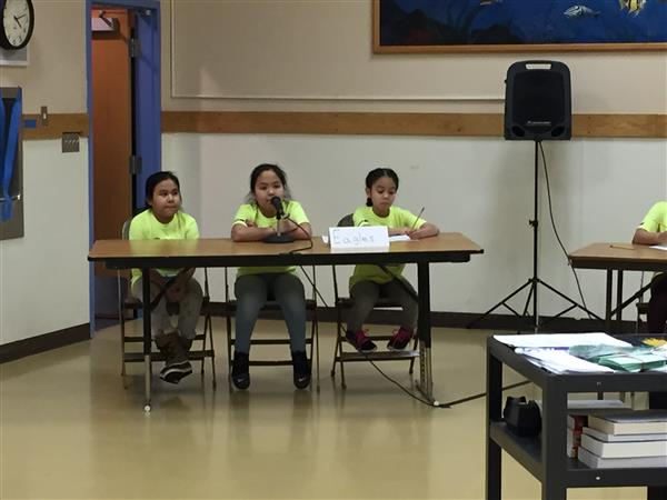 "Battle of the Books 3rd/4th ""Bobbers"""