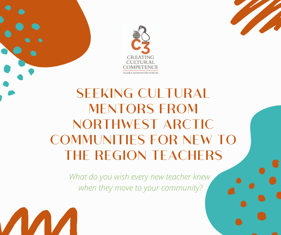 Seeking cultural mentors for new to the region teachers